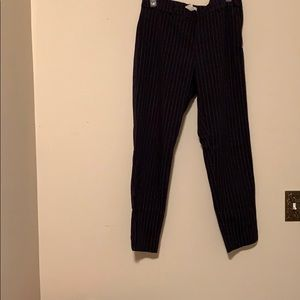 H&M Pinstriped Ankle Pants